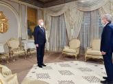 Canciller Felipe Solá es recibido por el Presidente de Túnez