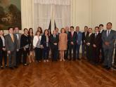 El Taller fue encabezado por la Dra. Frida Armas Pfirter, la Embajadora María Teresa Kralikas y participó el Embajador de Ecuador, Fernando Yépez Lasso