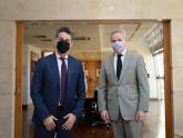 Canciller Felipe Solá y fiscal Marcelo Colombo