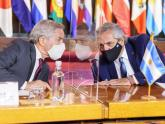 Presidente Alberto Fernández y Canciller Felipe Solá