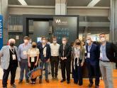 Reunión de delegación argentina con Andrés Saborido, Global Managing Director de WAYRA