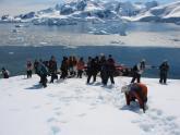 Turistas en Punta Portal