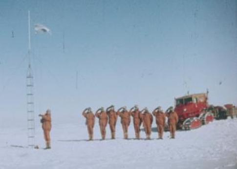 Expedición al Polo Sur del Ejército Argentino en 1965