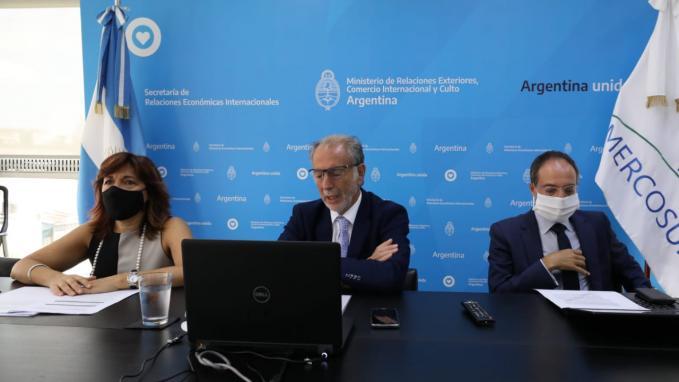 Reunión por acuerdo Mercosur-UE
