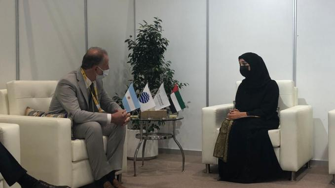 Expo Dubái 2020_Jorge Neme y Reem Al Hashimy