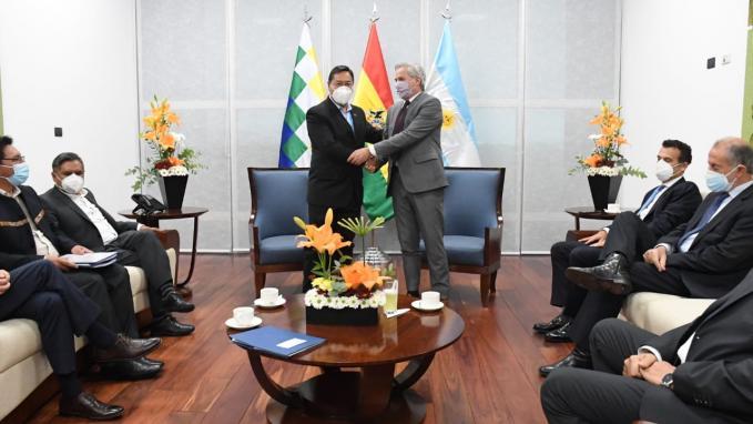 Visita Oficial a Bolivia
