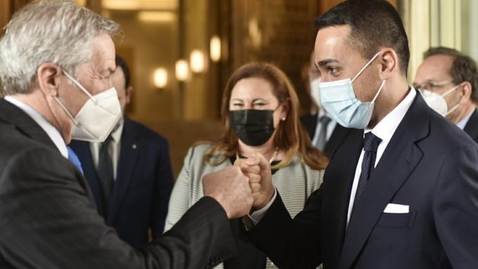 Gira presidencial_Reunión de cancilleres_Italia