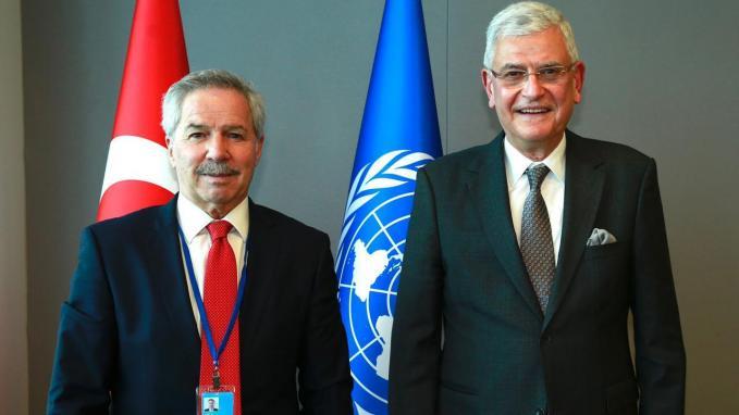 Canciller Felipe Solá y Volkan Bozkir_ONU