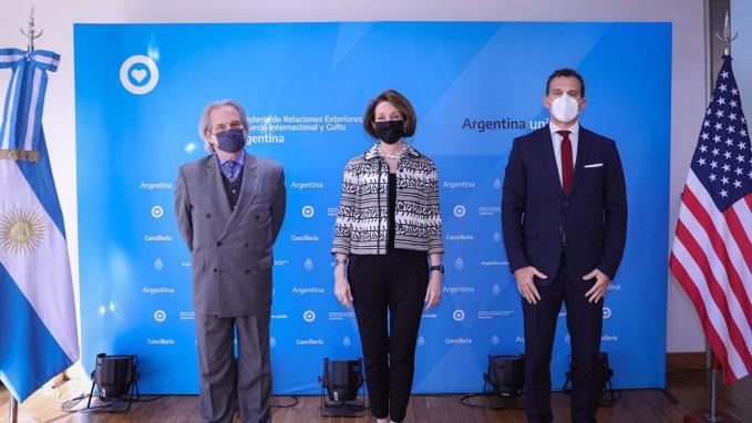 Reunión Argentina_EEUU en Cancillería