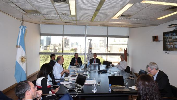 Teleconferencia_Coordinadores del MERCOSUR