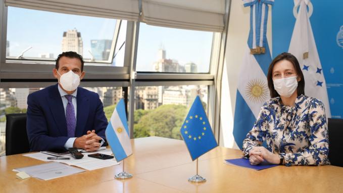 Argentina y UE_COVAX