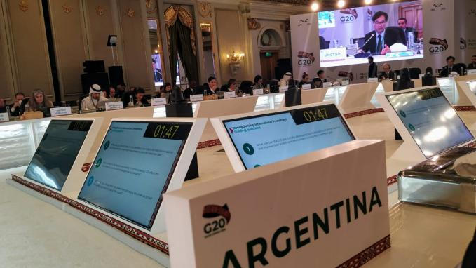 G20: La Argentina participa de reuniones preparatorias para la cumbre de líderes